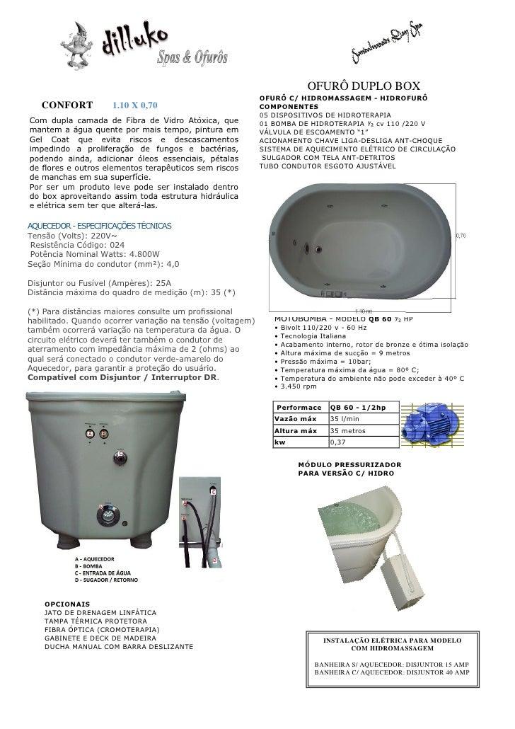 OFURÔ DUPLO BOX                                                           OFURÔ C/ HIDROMASSAGEM - HIDROFURÔ   CONFORT    ...
