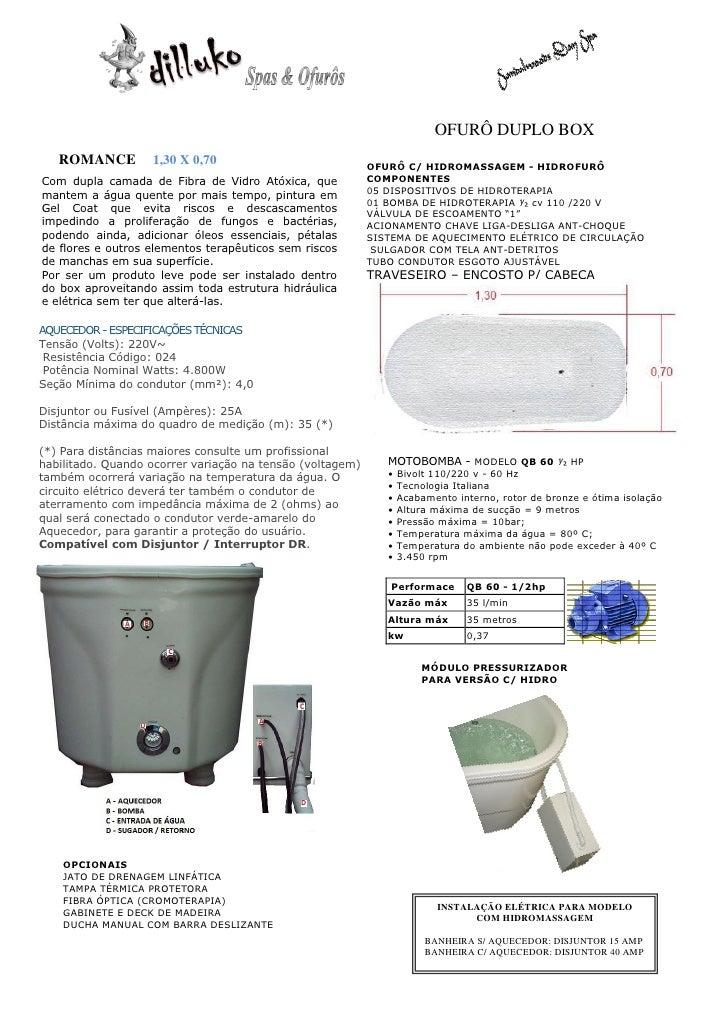 OFURÔ DUPLO BOX   ROMANCE         1,30 X 0,70                             OFURÔ C/ HIDROMASSAGEM - HIDROFURÔCom dupla cama...