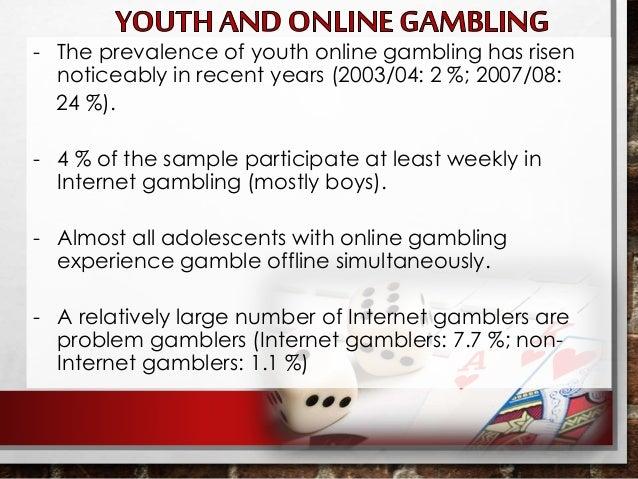 Internet gambling examples best poker hud reddit