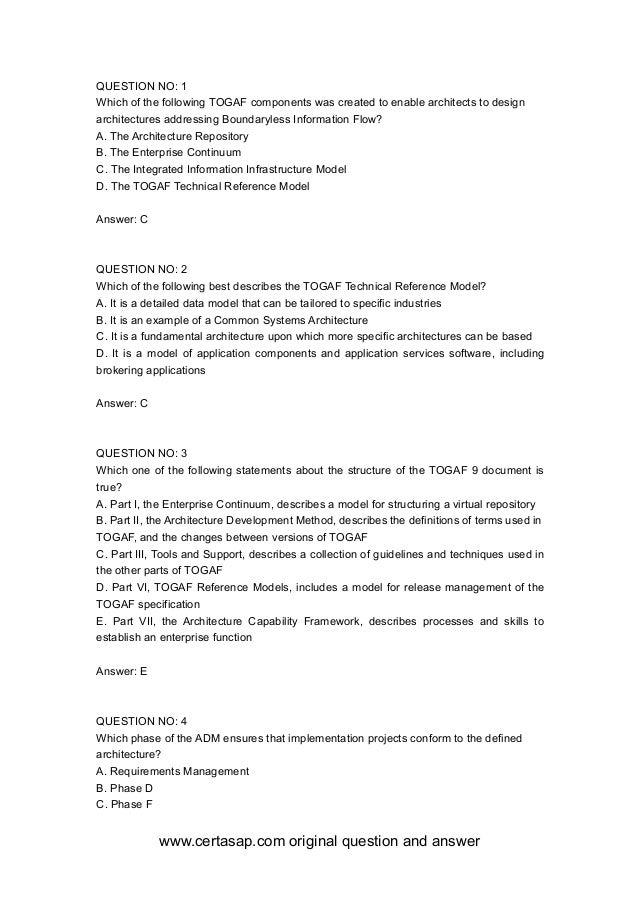 certasap OG0-093 Practice Exam PDF Demo