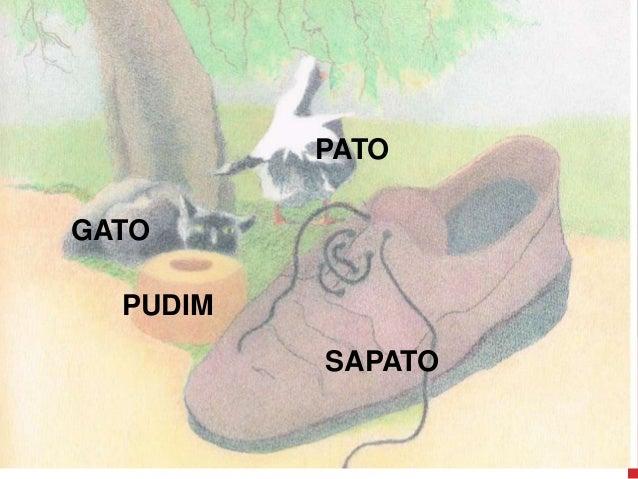 PATO GATO PUDIM SAPATO