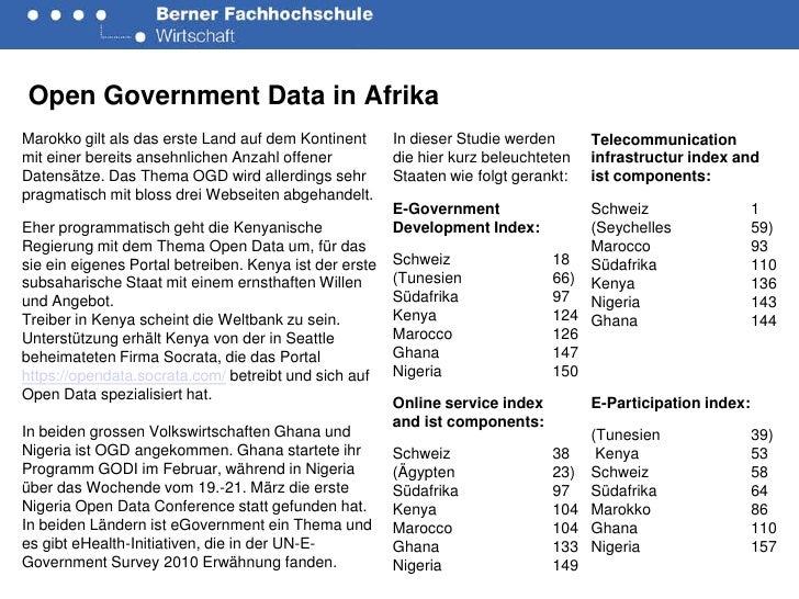 OGD in Afrika Slide 2