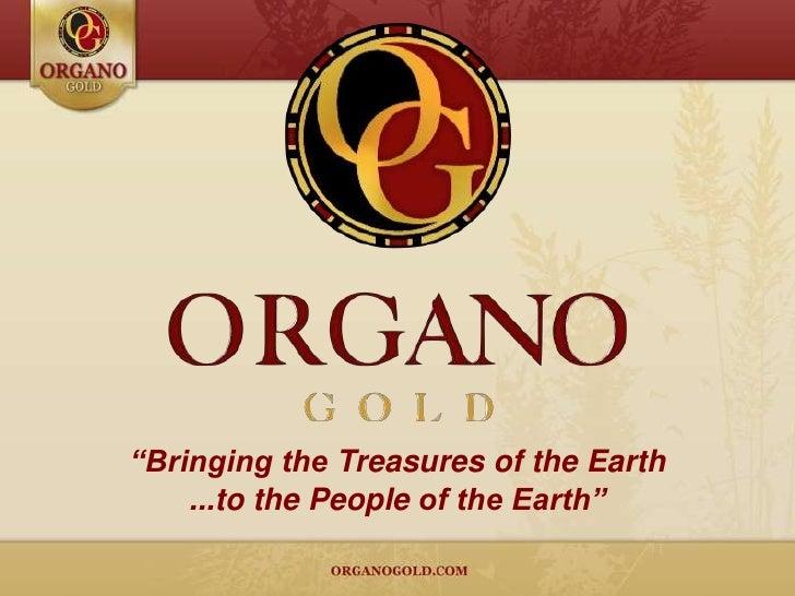 Organo Gold Presentation