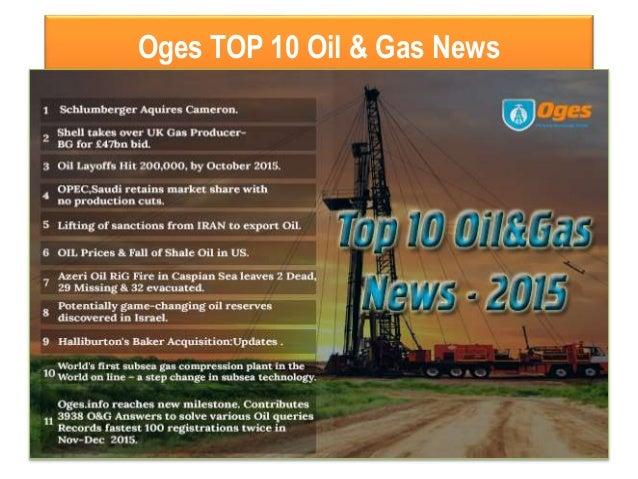 Oges TOP 10 Oil & Gas News