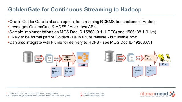 OGH 2015 - Hadoop (Oracle BDA) and Oracle Technologies on BI Projects