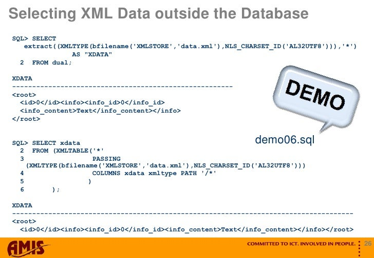 Ogh Ace Case, Part 1 and 2, Oracle Xml Database, Marco Gralike