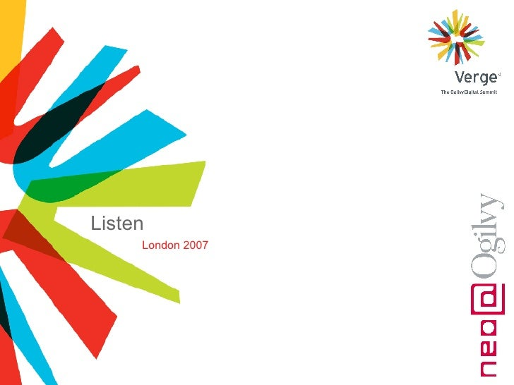 London 2007 Listen
