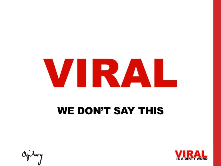 Viral is a Dirty Word Slide 3