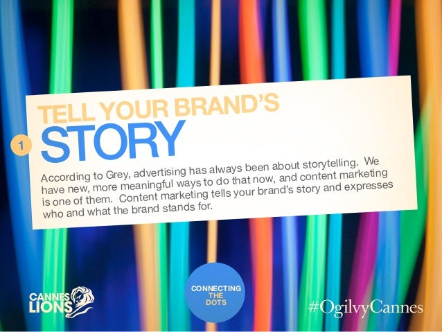 Connecting the Dots with @LinkedIn #CannesLions / #OgilvyCannes Slide 2