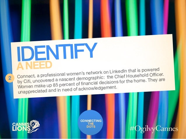 Connecting the Dots with @LinkedIn #CannesLions / #OgilvyCannes Slide 3