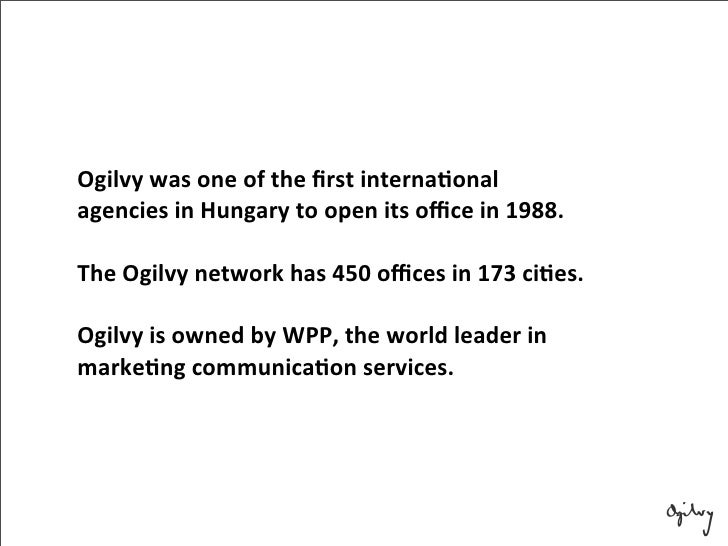group ogilvy office. ogilvy group office