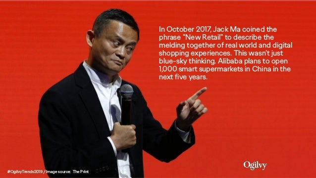 """In October 2017, Jack Ma coined the phrase """"New Retail"""" to describe the melding together of real world and digital shoppin..."""