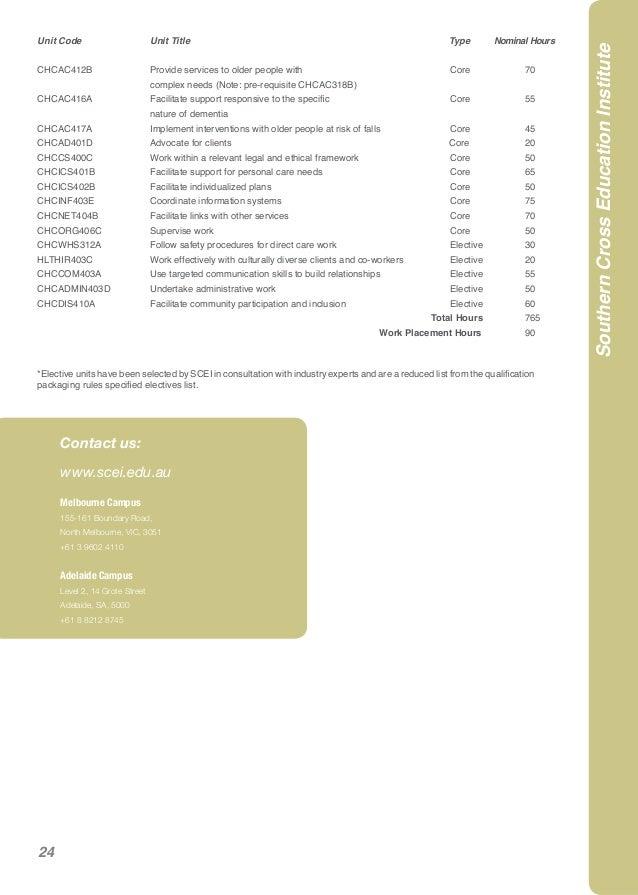 hlthir403c case study