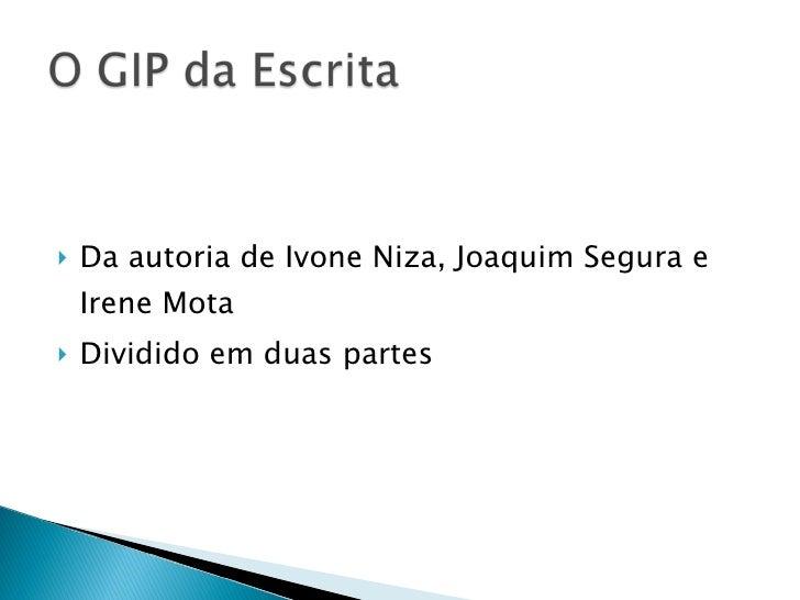 <ul><li>Da autoria de Ivone Niza, Joaquim Segura e Irene Mota </li></ul><ul><li>Dividido em duas partes </li></ul>