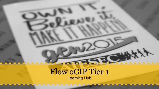 Flow oGIP Tier 1 Learning Hub