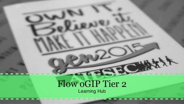 Flow oGIP Tier 2 Learning Hub