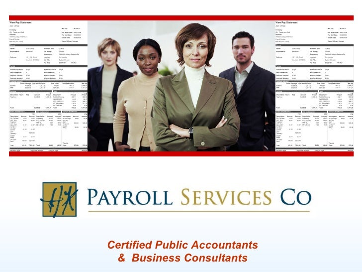 Certified Public Accountants &  Business Consultants