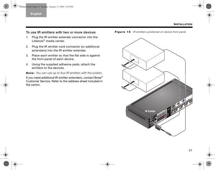 bose lifestyle subwoofer wiring diagram 25 bose cinemate bose lifestyle 25 installation manual Gentex Homelink Wiring-Diagram
