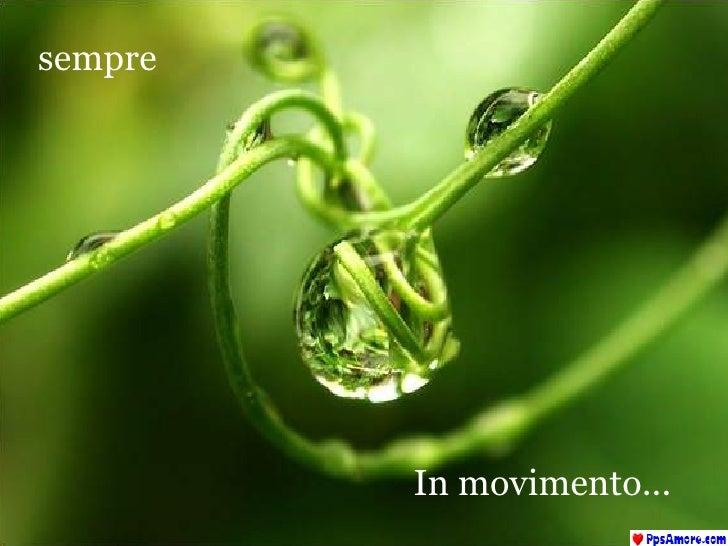 In movimento... sempre