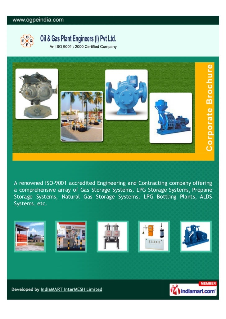 A renowned ISO-9001 accredited Engineering and Contracting company offeringa comprehensive array of Gas Storage Systems, L...