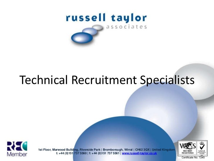 Technical Recruitment Specialists  <br />