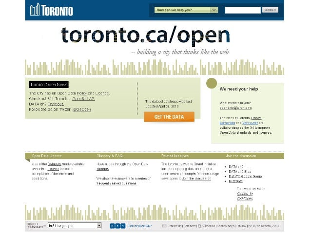 Wish List• Planning data• Building outlines/3D• Fire hydrant locations• Recreation programs: # ofspaces, registrations – b...