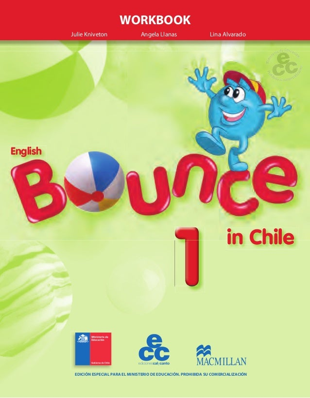 ENGLISH BOUNCE IN CHILE 1  WORKBOOK