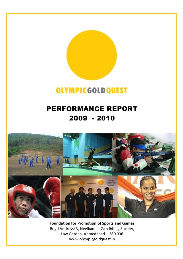 "! PERFORMANCE REPORT 2009 - 2010 !""#$%&'""$()""*(+*"",""'""$("")(-.""*/0(&$%(1&,20! !""#$%&$$'""(()%*+%,""""-./0/-+%1/2$345/#%6784""9:..."