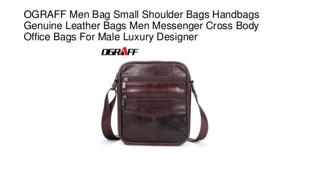 b082aa1e9ed69 Ograff men bag small shoulder bags handbags genuine leather bags men  messenger cross body office bags for male luxury designer