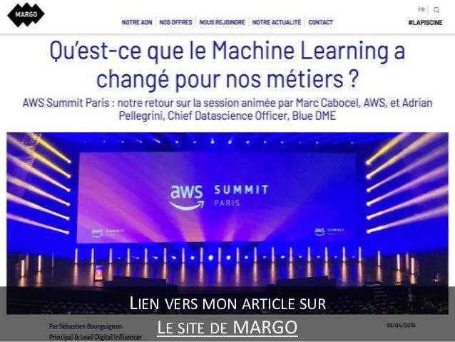 AWS Summit Paris - Qu'est-ce que le Machine Learning a changé pour nos métiers ? Slide 3