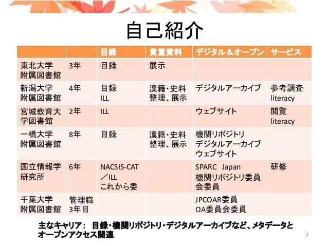 Ogura LOD at code4lib_20180901 Slide 2