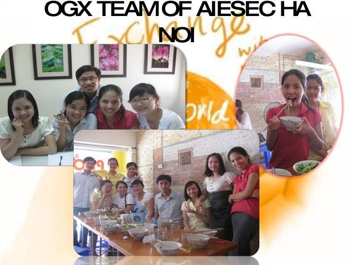 OGX TEAM OF AIESEC HA NOI