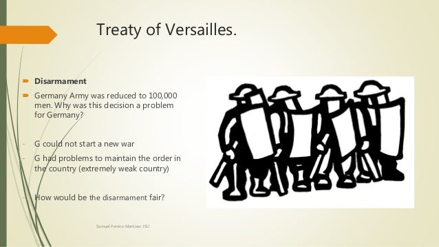 to what extent was the treaty of versailles fair The treaty of versailles was supposed to ensure a lasting peace by punishing germany and setting up a league of britain and france felt the treaty was fair.