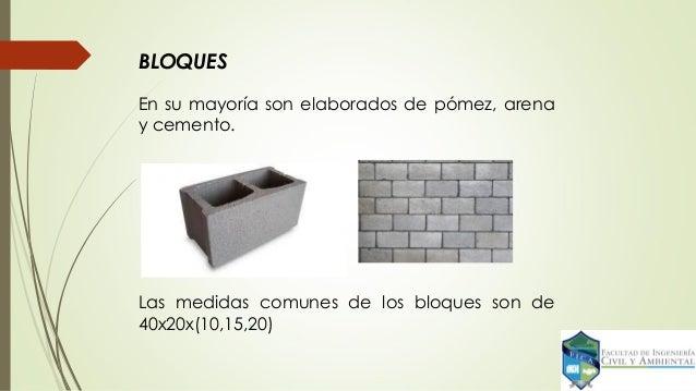 2 0 ensayo de materiales mampuestos - Medidas de ladrillos comunes ...