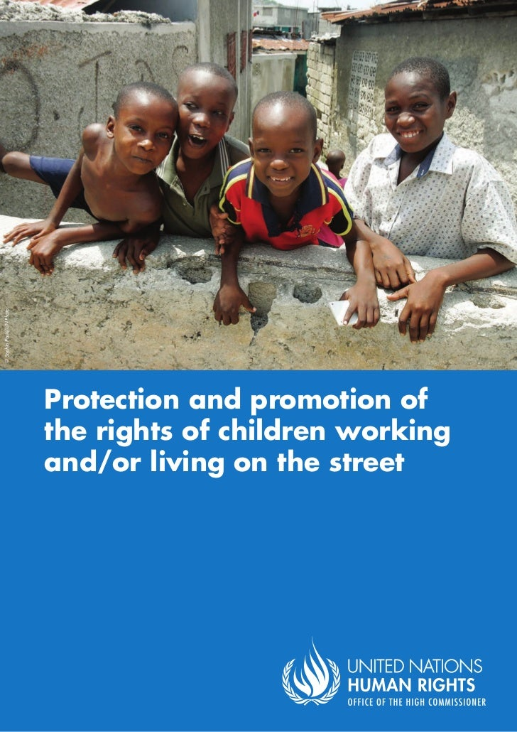 © Sophia Paris/UN Photo                          Protection and promotion of                          the rights of childr...