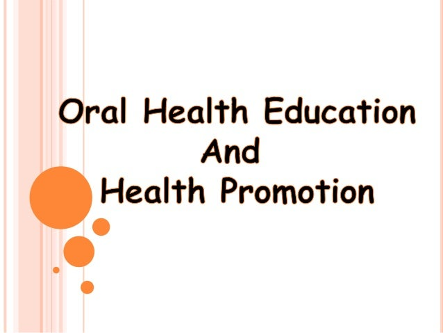 Oral Health Educator 55
