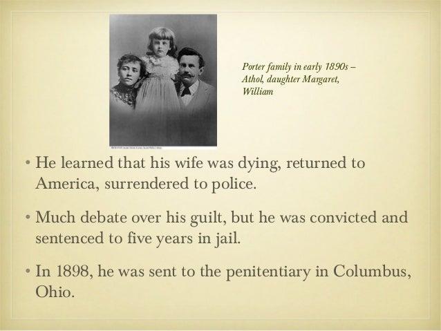 biography of o henry O henry biography, william sydney porter 1 o henry1862 - 1910 2 •birth name: william sidney porter•born september 11, 1862 (during the civil war) ingreensboro, north carolina.