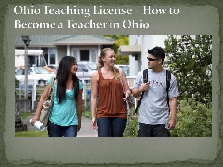 When you are interested to become a teacher inOhio, you need to obtain the Ohio teachinglicense. The state provides differ...