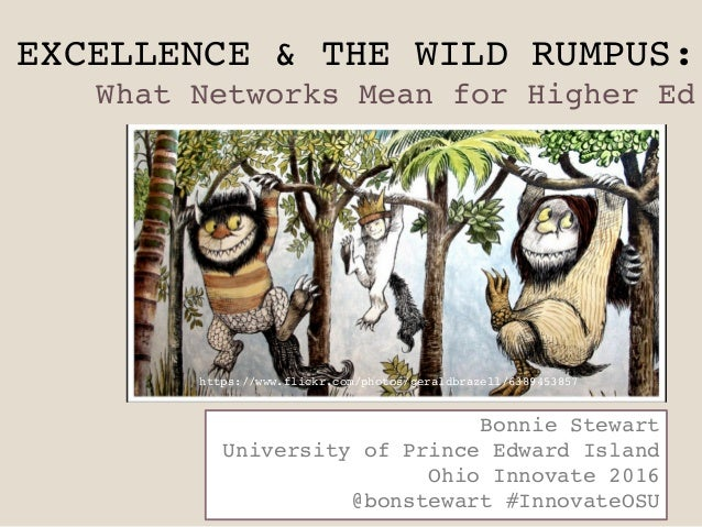 EXCELLENCE & THE WILD RUMPUS: