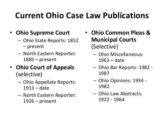Court Of Last Resort Ohio Supreme 22