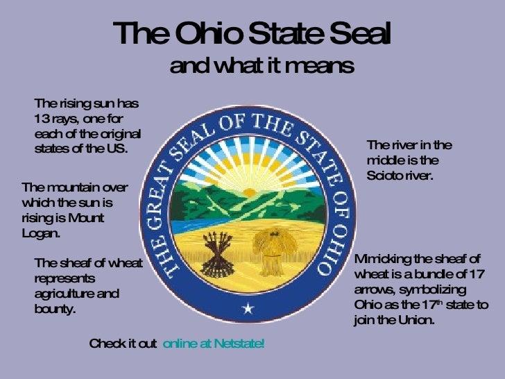 Ohios State Symbols