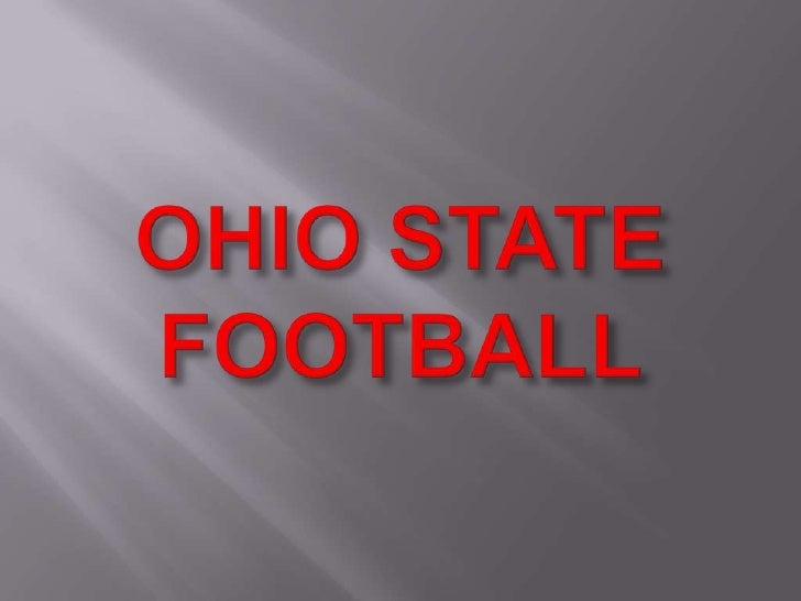 OHIO STATE FOOTBALL<br />