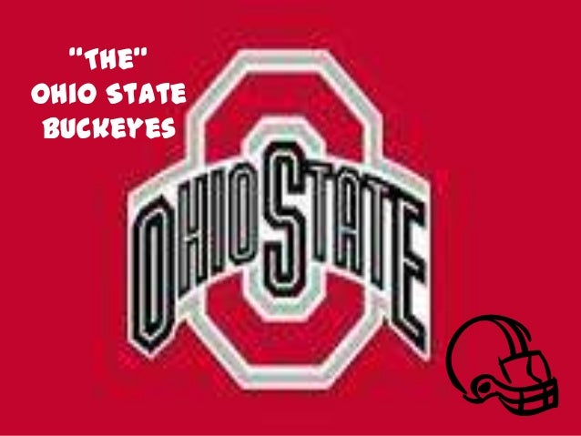 """The"" Ohio State Buckeyes"
