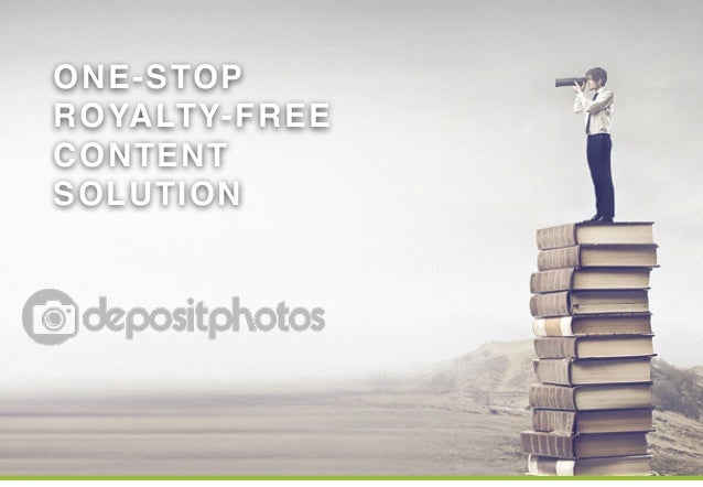 ONE-STOP!  ROYALTY-FREE!  CONTENT  SOLUTION