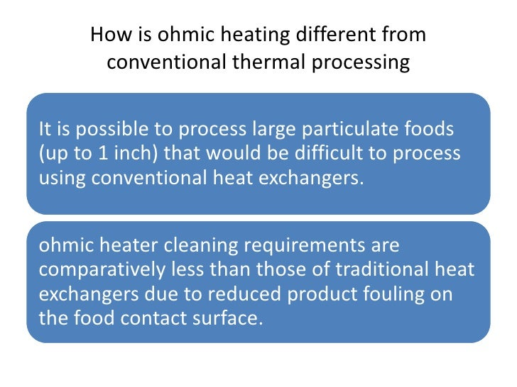 ohmic heating in food processing pdf