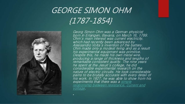 Ohm's law Slide 2