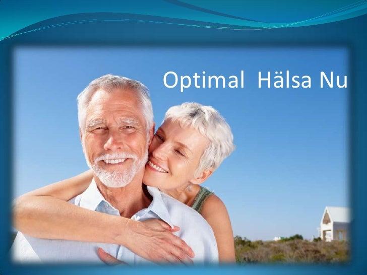 Optimal  Hälsa Nu<br />
