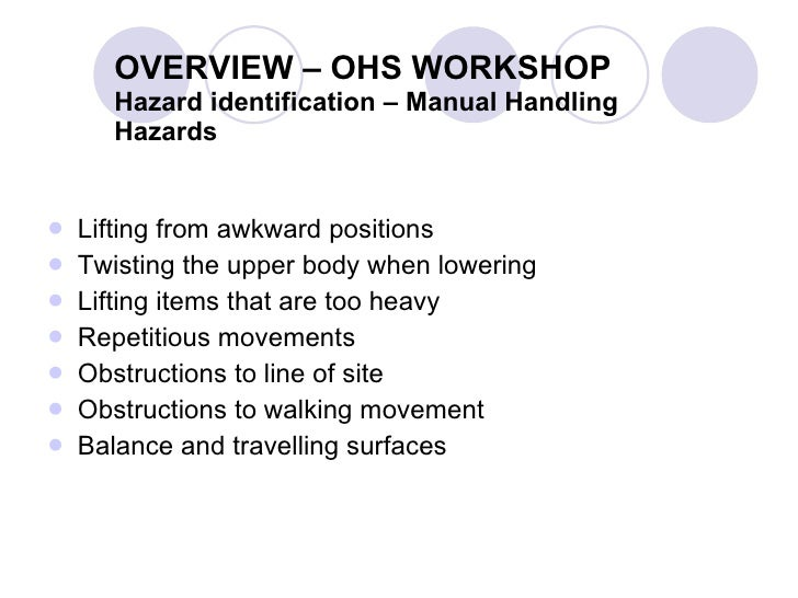 Occupation Safety & Health Presentation