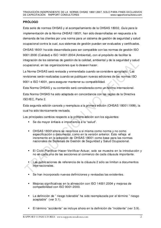 OHSAS 18001 Slide 2