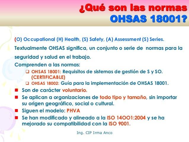 Sistemas de seguridad y salud en el trabajo - Sistemas de seguridad ...